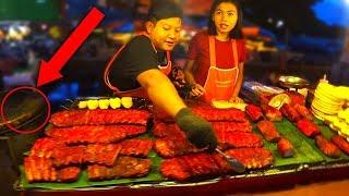 Тайланд Паттайя 2019 ЗИМОЙ! ЧЕМ ОПАСЕН Ночной рынок Джомтьен? Цены на еду в Таиланде,Джомтьен Маркет