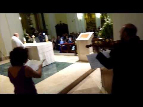 Soprano, órgano y violín. Boda religiosa