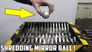 Making a Mirror Polished Japanese Foil Ball and Shredding It ! - Video Youtube