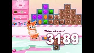 Candy Crush Saga Level 3189 (3 stars, No boosters)