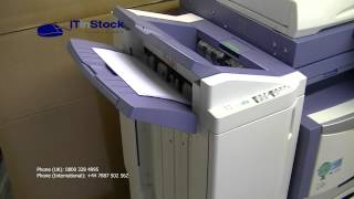 Toshiba e-Studio 355 Mono A4 A3 Printer Copier Scanner +Finisher Low Print Count