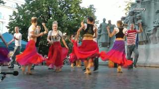Hungarian gypsy dance a little differently