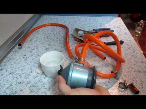 Cómo cambiar la goma de butano de la alcachofa (regulador) y la toma del calentador