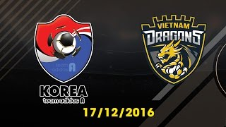 [17.12.2016] [EA CCW 2016] TEAM ADIDAS A vs VIETNAM DRAGONS [Group Stages]