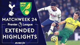 Tottenham Hotspur v. Norwich City   PREMIER LEAGUE HIGHLIGHTS   1/22/2020   NBC Sports