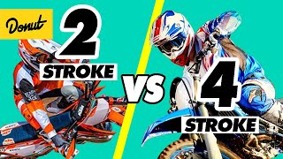 2 STROKE vs 4 STROKE ENGINES - How it Works | SCIENCE GARAGE