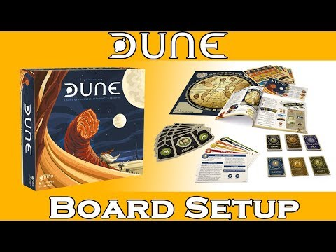 How To Play Dune: Board Setup