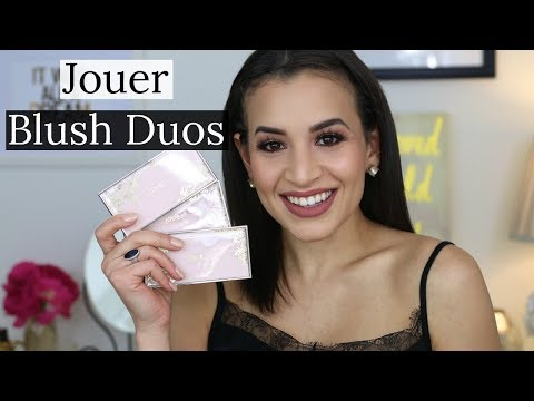 Jouer Cosmetics Blush Bouquet Blush Duos | Review and Swatches