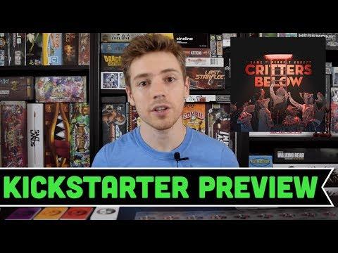 Players Wanted: Critters Below Kickstarter Preview