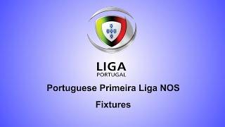 Portuguese Primeira Liga NOS Fixtures : Matchday 34