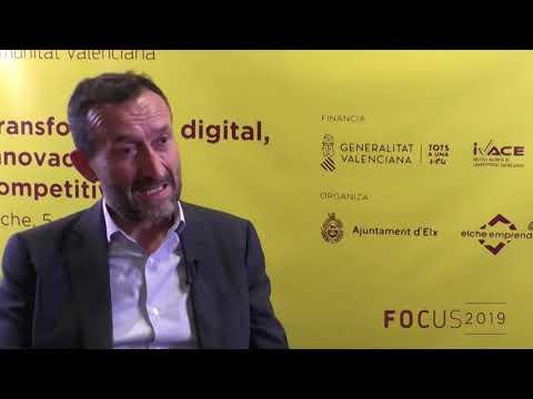 El Alcalde de Elche, Carlos González en Focus Pyme CV 2019[;;;][;;;]