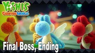 Yoshi's Crafted World - Gameplay Walkthrough Part 3 - Riding Poochy