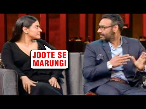 Kajol Wanted To Beat Ajay Devgn With Her Shoes At