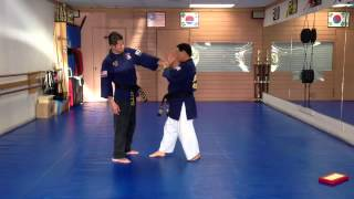 Hapkido One Wrist Grab Defense 1