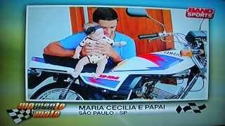 Maria Cecília No Momento Moto