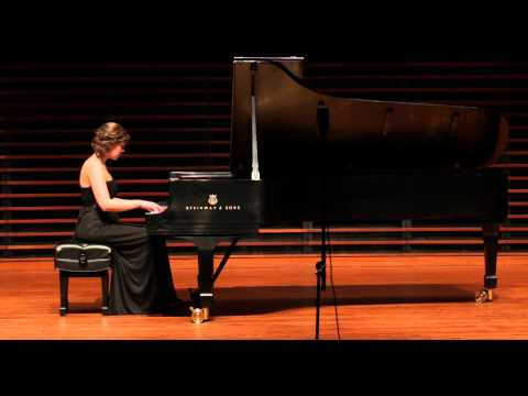 These are videos of my senior recital in February 2014.
