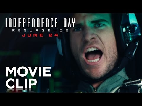 Independence Day: Resurgence (Clip 'Dog Fight')