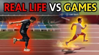 Real Life VS Games - Olympic Challenge
