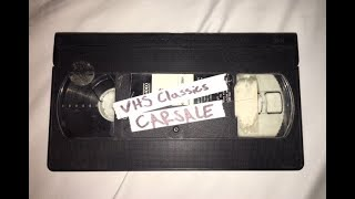 """Car Sale! - """"VHS Classics"""""""