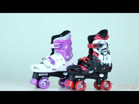 Osprey Adjustable Quad Roller Skates | Skates.co.uk Review