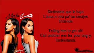 Becky G - NO TE PERTENEZCO (Letra & English Translation Lyrics)