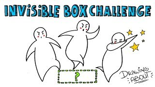 INVISIBLE BOX CHALLENGE | Draw My Life