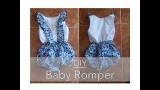 DIY Baby Romper | TheMixedGirl
