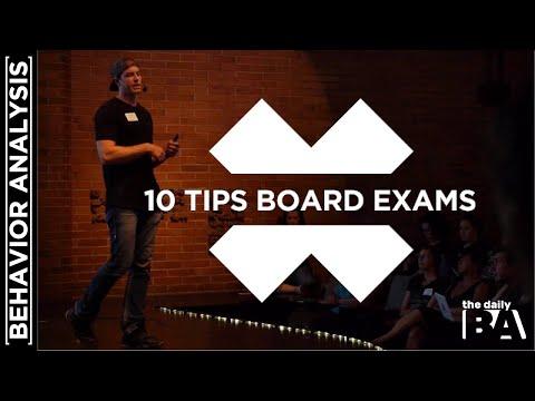 10 Tips for Preparing for the BCBA Exam - YouTube
