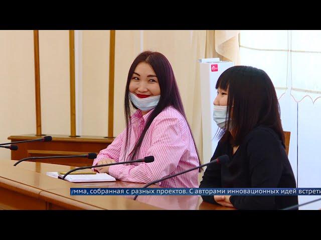 Мэр Ангарского округа встретился с обладателями грантов