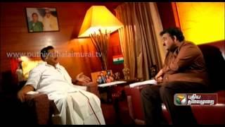 M.K.Alagiri Exclusive Interview  In Puthiya Thalaimurai's Agni Paritchai - Part 2