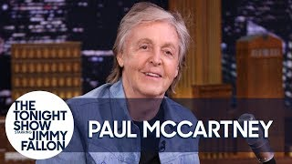 Paul McCartney explains why he favors creating a concept album over a record full of singles, reveals the wise words Willie Nelson shared with him about retirement and hints at plans for his surprise show in New York City. Catch a live stream of the full show on his YT channel at 8 p.m. ET on September 7: https://www.youtube.com/paulmccartney.  Subscribe NOW to The Tonight Show Starring Jimmy Fallon: http://bit.ly/1nwT1aN  Watch The Tonight Show Starring Jimmy Fallon Weeknights 11:35/10:35c Get more Jimmy Fallon:  Follow Jimmy: http://Twitter.com/JimmyFallon Like Jimmy: https://Facebook.com/JimmyFallon  Get more The Tonight Show Starring Jimmy Fallon:  Follow The Tonight Show: http://Twitter.com/FallonTonight Like The Tonight Show: https://Facebook.com/FallonTonight The Tonight Show Tumblr: http://fallontonight.tumblr.com/  Get more NBC:  NBC YouTube: http://bit.ly/1dM1qBH Like NBC: http://Facebook.com/NBC Follow NBC: http://Twitter.com/NBC NBC Tumblr: http://nbctv.tumblr.com/ NBC Google+: https://plus.google.com/+NBC/posts  The Tonight Show Starring Jimmy Fallon features hilarious highlights from the show including: comedy sketches, music parodies, celebrity interviews, ridiculous games, and, of course, Jimmy's Thank You Notes and hashtags! You'll also find behind the scenes videos and other great web exclusives.  Paul McCartney Won't Do Modern Pop Albums Thanks to Beyoncé and Taylor Swift http://www.youtube.com/fallontonight  #FallonTonight #PaulMcCartney #McCartneyOnFallon