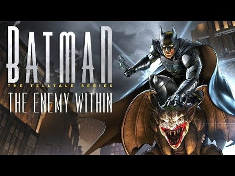 BATMAN: The Enemy Within All Cutscenes (Season 2) Episode 1: The Enigma | Game Movie