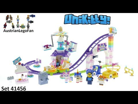 Lego Unikitty 41456 Unikingdom Fairground Fun - Lego Speed Build Review