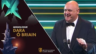 Dara Ó Briain's Hilarious Opening Monologue | BAFTA Games Awards 2019