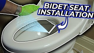 How To Install A Bidet Toilet Seat - DIY Plumbing