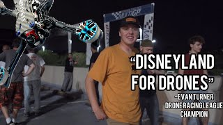 Disneyland for Drones - Top 5 Drone racers in one place Feat HeadsUp, Chief, Phat Kid, Broken Carbon