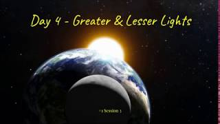 (#16 5980) Day 4 - Greater & Lesser Lights