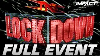 Lockdown 2005: FULL PAY PER VIEW! | IMPACT Wrestling Full Events