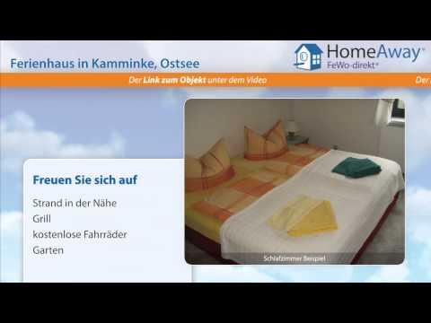 Usedom: Ferienhaus mit Panoramablick auf das Haff und Swinemünde und - FeWo-direkt.de Video