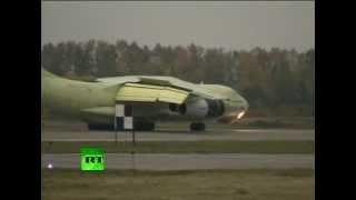 Путину показали новый российский самолет