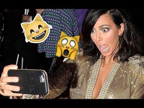 KIM KARDASHIAN Funny Moments 2017