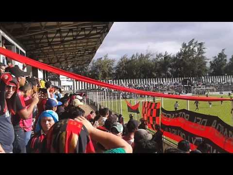 """""""Legion roja y negra en diriamba 17/11/2013"""" Barra: Legión Roja y Negra • Club: Walter Ferretti"""