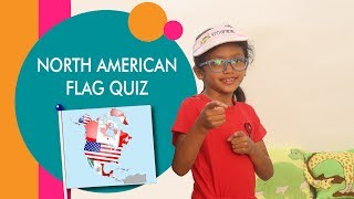 Kids quiz | North America | Part 3 | Flags of the world