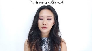 How To Rock A Middle Part