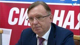 Сопредседатель предвыборного штаба кандидата Владимира Путина Сергей Когогин посетил Великий Новгород