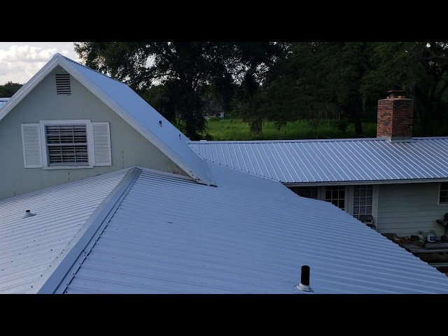 Shingle to Metal Roof Replacement - After