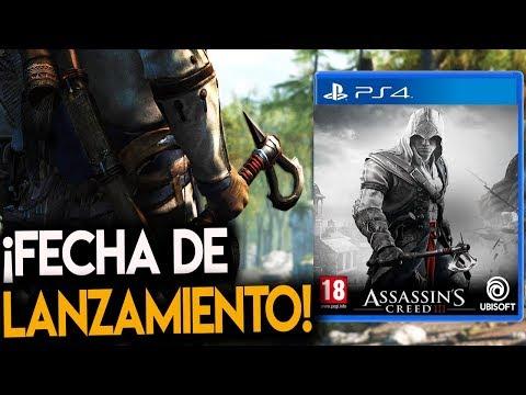 ¡Se CONFIRMA la FECHA DE SALIDA de Assassin's Creed 3 REMASTERED! - RAFITI