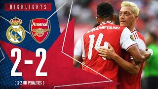 HIGHLIGHTS: Real Madrid 2-2 Arsenal | 3-2 on penalties | ICC 2019