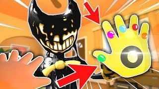 BABY USES INFINITY GAUNTLET TO DESTROY BENDY | Baby Hands VR (Lets Play New Update HTC Vive Gameplay