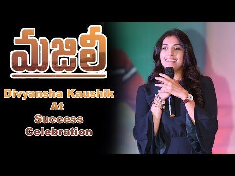 divyansha-kaushik-at-majili-movie-team-success-celebration